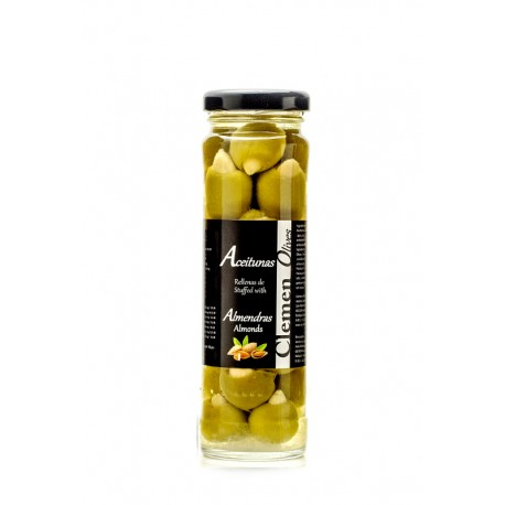 Olives filled with natural almonds